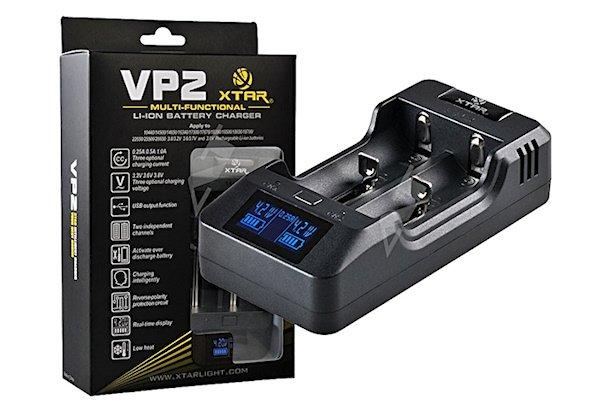 Xtar VP2 - Ladegerät für Li-Ion. Akkus