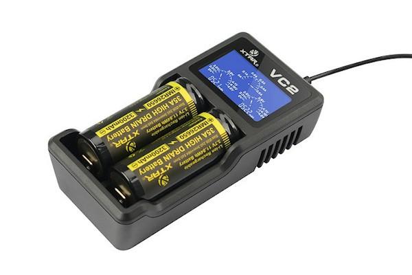 Xtar VC2 - Ladegerät für Li-Ion Akkus