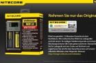 Nitecore NEW i2 - Ladegerät für Li-Ion, LiFePo, Ni-MH, Ni-CD Akkus