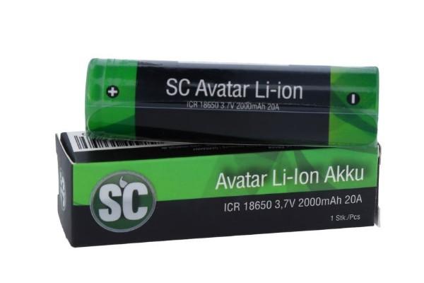 SC Avatar Li-Io Aku 18650 20A
