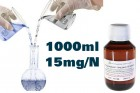 1000ml 15mg/Nikotin VG/PG Mix your base