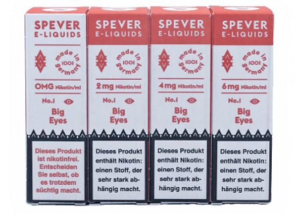 Spever E-Liquid No.1 -  Big Eyes