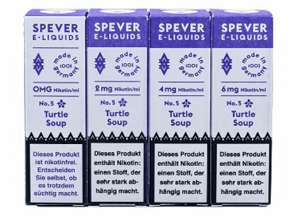 Spever E-Liquid No.5 - Turtle Soup