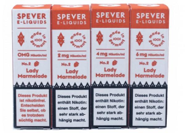 Spever E-Liquid No.2 - Lady Marmelade