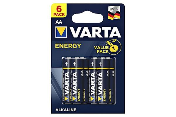 6er Pack AAA Varta Standard Batterien